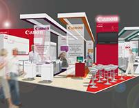 stand CANON (concept) - salon graphitec 2011