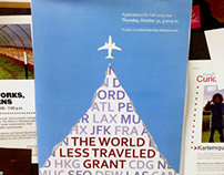SAIC World Less Traveled Grant Poster