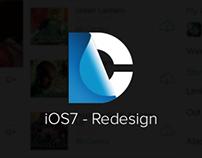 DC Comics - iOS7 Redesign
