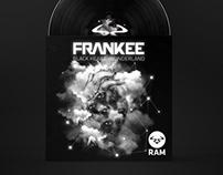 Frankee - Black Heart artwork vinyl