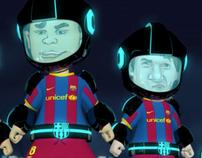 Barça Toons: Tron