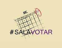 Sal a votar