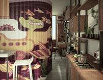 An experimental student apartment