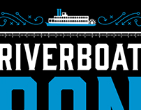 Riverboat Ron Shirt and Poster