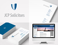 JCP Solicitors - Corporate Identity Design