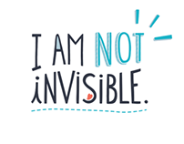I Am Not Invisible T-shirt - Embody Europe