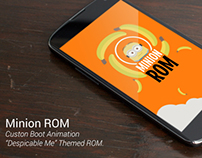 Minion Rom Boot Animation - Despicable Me Theme.