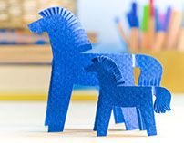 Pattern horses