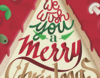 We wish you a merry pizza! (cover magazine)