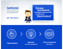 Samsung Developers' Academy • Website