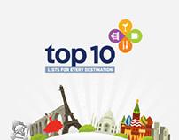 AEGEAN TOP10 - Facebook App
