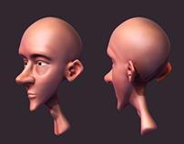 Cartoon Head