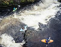 Llangollen/River Dee Kayak trip