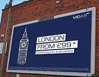 Advertising | MidAir Promotional Poster's