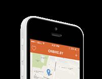 Onbike.by app