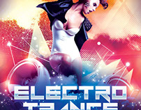 Electro Trance Flyer