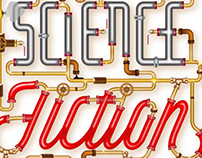 Science Fiction Lovers / Lettering