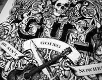 'Guy Clark' - Editorial Illustration