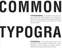 Common Typographic Diseases Text Layouts
