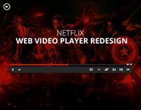 Netflix.com Video Player Redesign