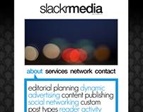 SlackrMedia Mockup (2011)