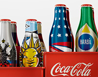 COCA COLA Bottles - 2014 FIFA World Cup Brazil