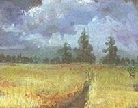 water-based medium paintings