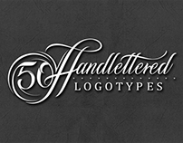 50 Handlettered Logotypes