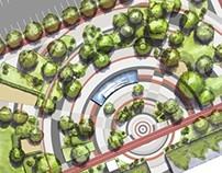 Design da Praça  Estação Arniqueiras, Águas Claras - DF