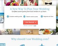 Wedding.com Homepage