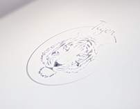 Branding Logo Tiger