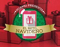 El Reto Navideño - (Huawei Facebook App)