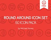 Round Around 50 icon pack   free