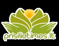 Prisilietimas.lt Logo & Web Design