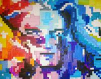 Pixel art : Couleur d'encre