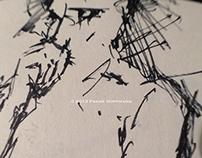 Nude life drawings 2012-2013 – Sketchbook part III