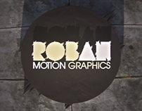 Roban / Motion graphics - Reel 2013