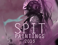 Spit Painting