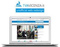 Web Redesign TVA Vicenza