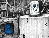 Blue girl series