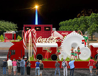 Desfile Coca-Cola
