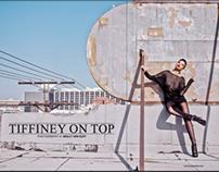 """Tiffiney on Top"" for Elegant Magazine December 2013"