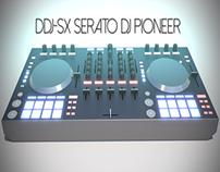 DDJ-SX SERATO DJ PIONEER 3D Model