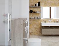 House in village «New Riga» | Bathroom