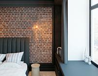 Apartment on the Krasin St. | Bedroom