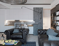 Apartment on the Krasin St. | Living room