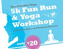 The Practice Yoga Flyers