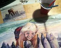 Watercolor Portraiture, Kiddos