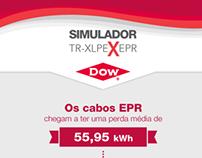 Infográfico DOW - Simulador TR-XLPE x EPR