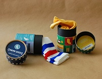 CINEMA SOCKS: Packaging Design